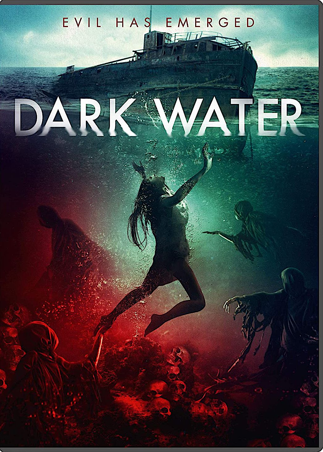 DARK WATER DVD (ITN) in 2020 Horror, Dark, Poster