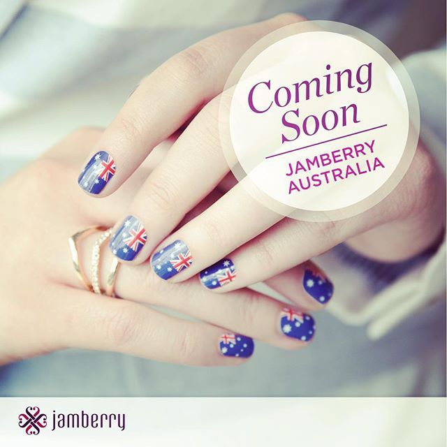 JAMBERRY NAILS - nail wrap legends is launching 4pm 01st October - I am an independent consultant for them so check them out at loveloveloveit.com.au - just another amazing product for our spectacular customers xx