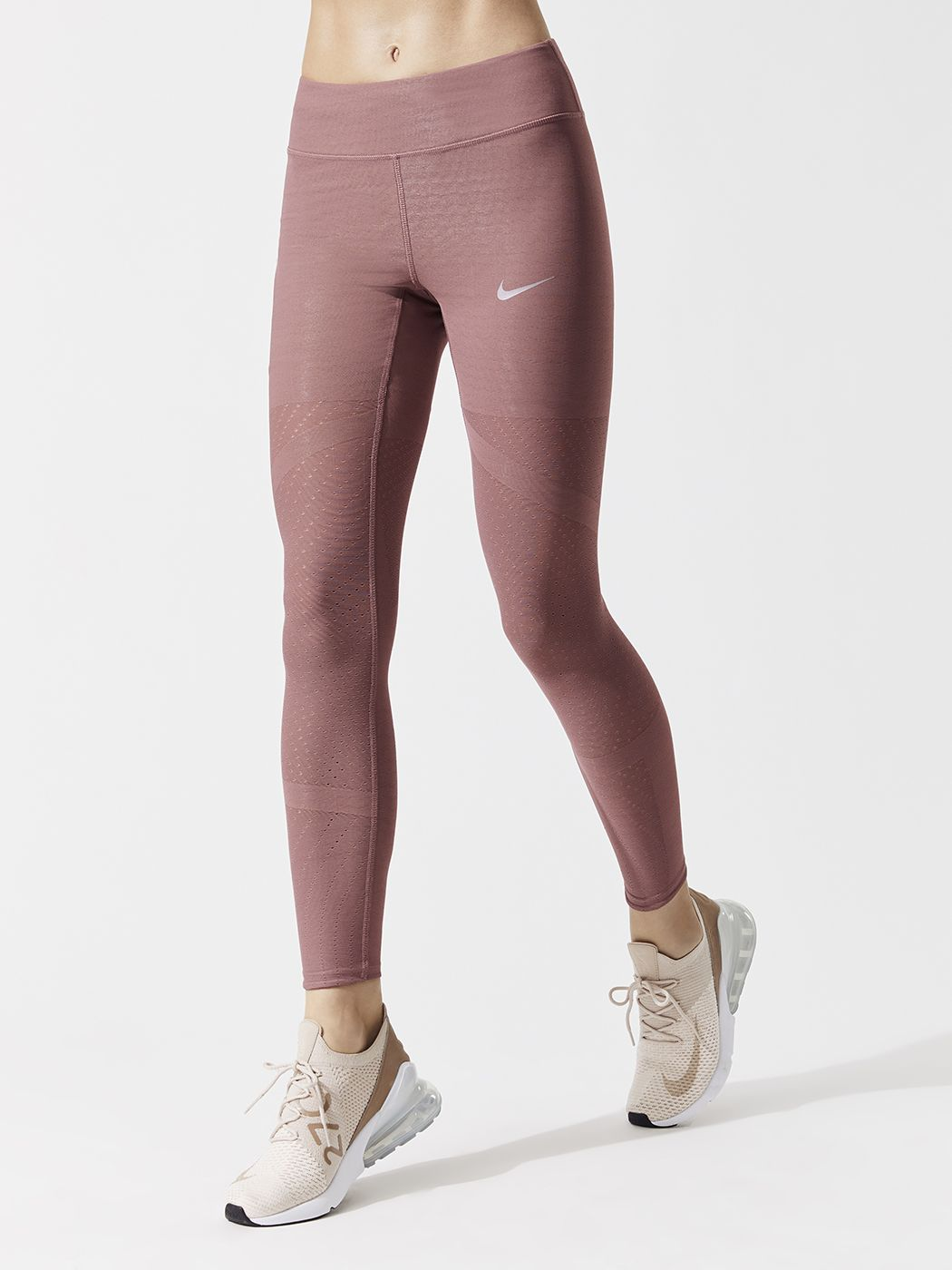 1fcd695c3a339 W Nk Epic Lx Athena Tght Leggings in Smokey Mauve by Nike from Carbon38