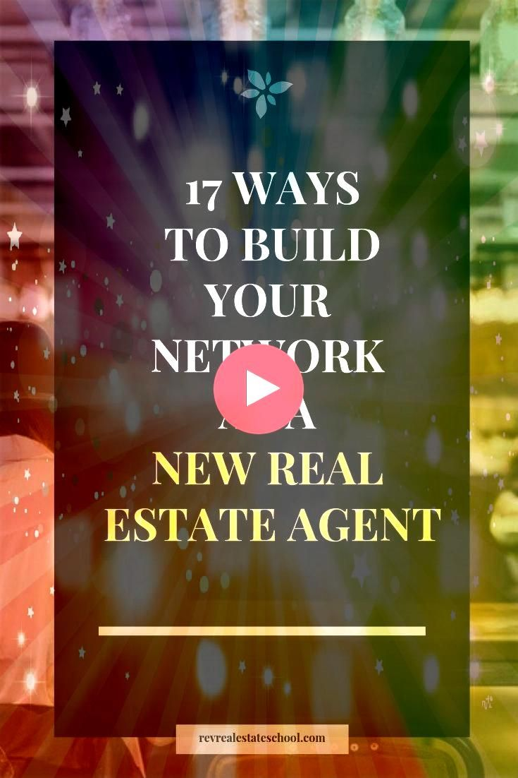 Your Network as a New Real Estate Agent Build Your Network as a New Real Estate Agent  5 Secrets to Success as a PartTime Real Estate AgentReal Estate Side Hustles Realto...