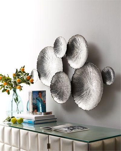 H7ggv Ares Wall Decor Silver Wall Decor Wall Mirror Decor