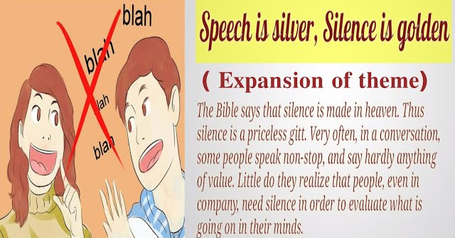 Essay on Silence is Golden : Meaning, Expansion of Proverb