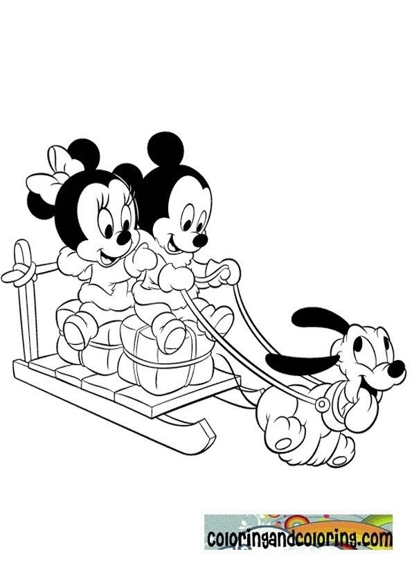 Pin By Sherif On Baby Disney Minnie Mouse Coloring Pages Mickey Mouse Coloring Pages Disney Coloring Pages