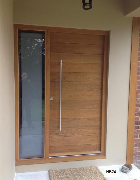 contemporay front door | Contemporary Doors - Horizontal Boarded (HB ...