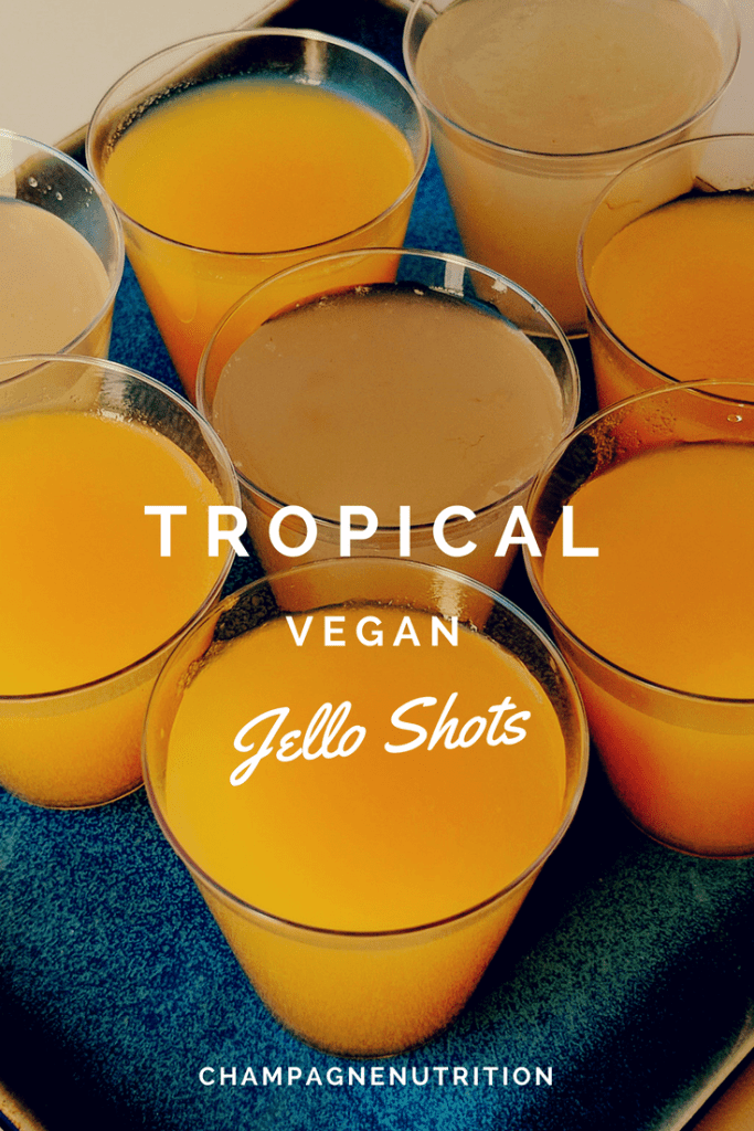 The Best Vegan Champagne Jello Shots With Fruit Juice And Agar Recipe Vegan Jello Shots Vegan Jello Champagne Jello Shots