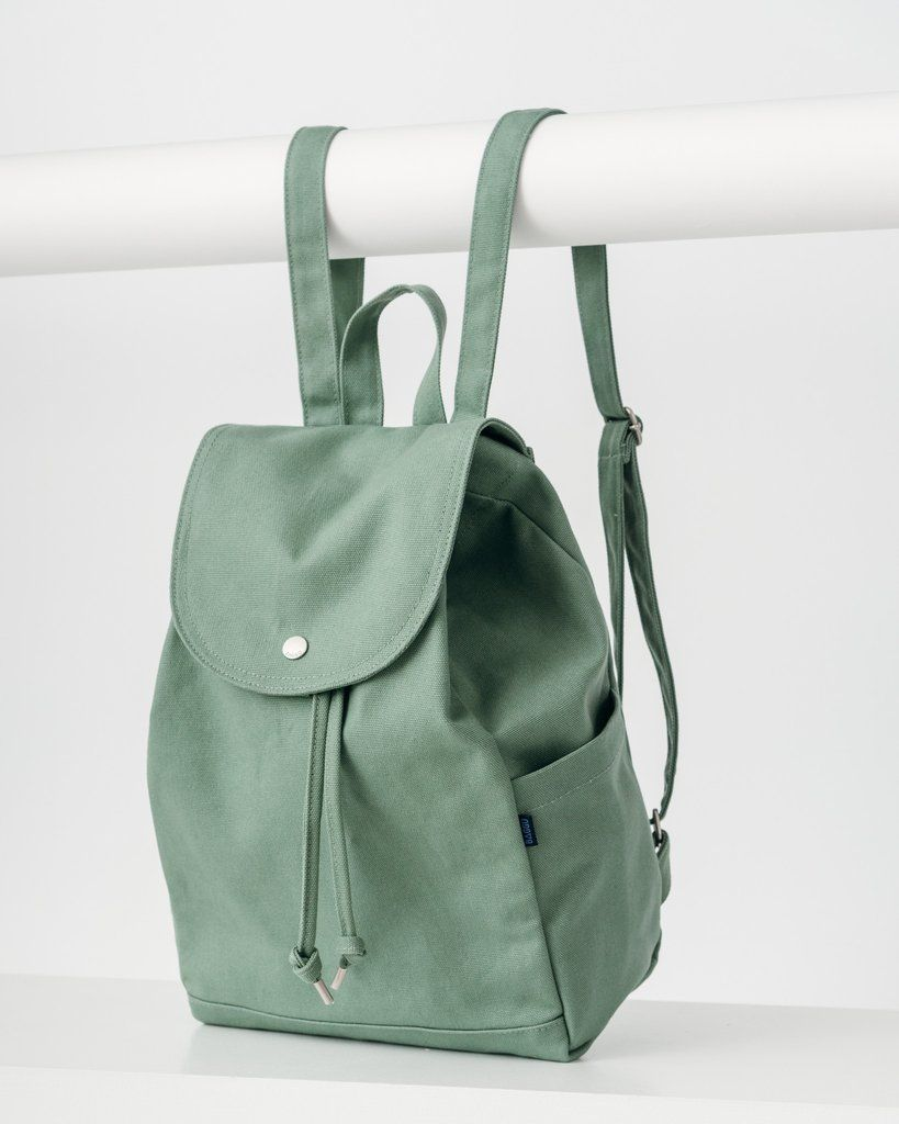 8974c99d39 Drawstring Backpack - Olive