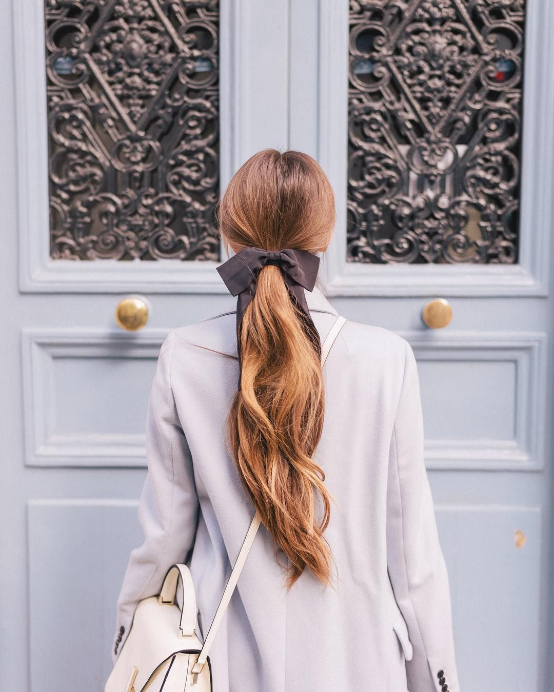 Tied with a linked this look in my profile hairbow bows paris