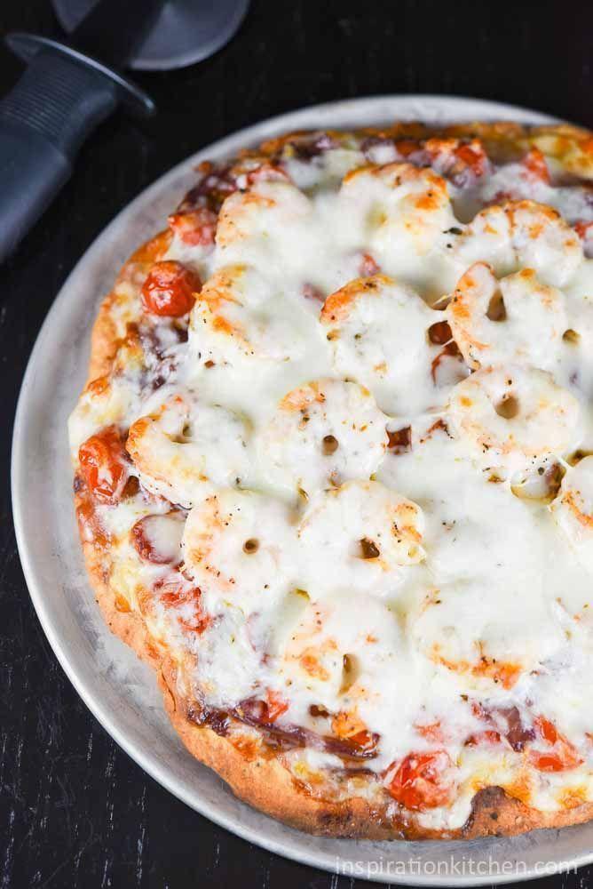 Shrimp Fra Diavolo Pizza   Inspiration Kitchen  #pizza #shrimp #shrimpfradiavolo #recipe