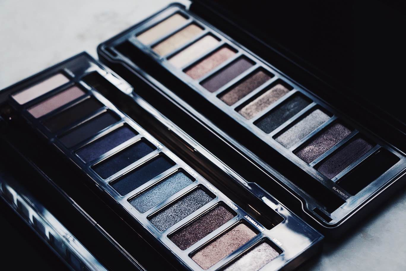 Urban Decay Naked Eyeshadow Palettes.