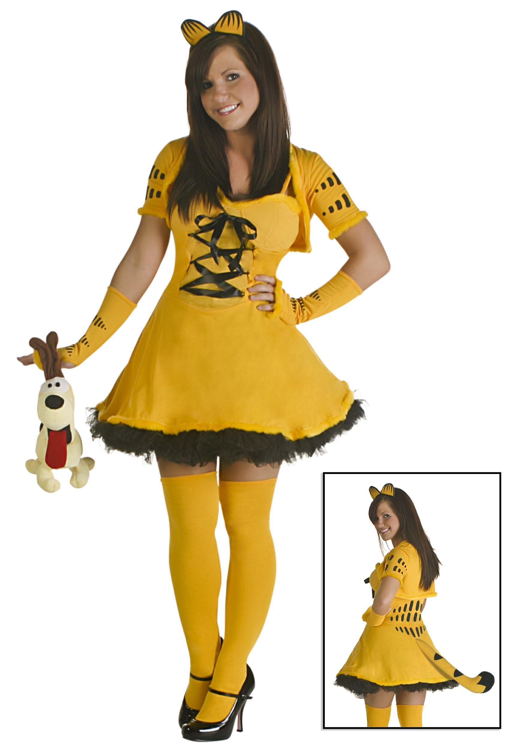 Sexy Garfield Costume | halloween costumes | Pinterest