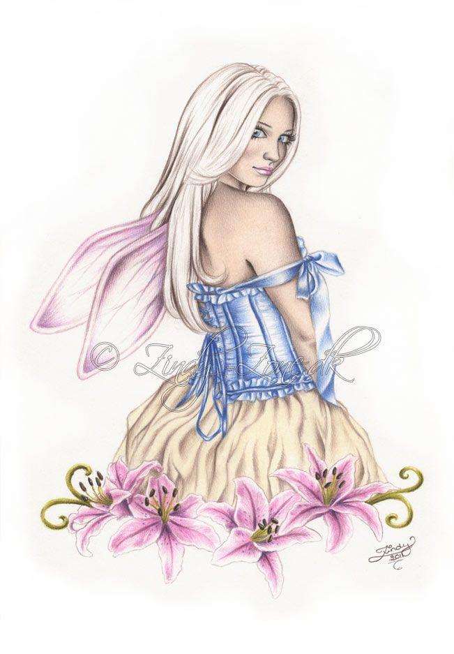 Stargazer Fairy by Zindy.deviantart.com on @deviantART