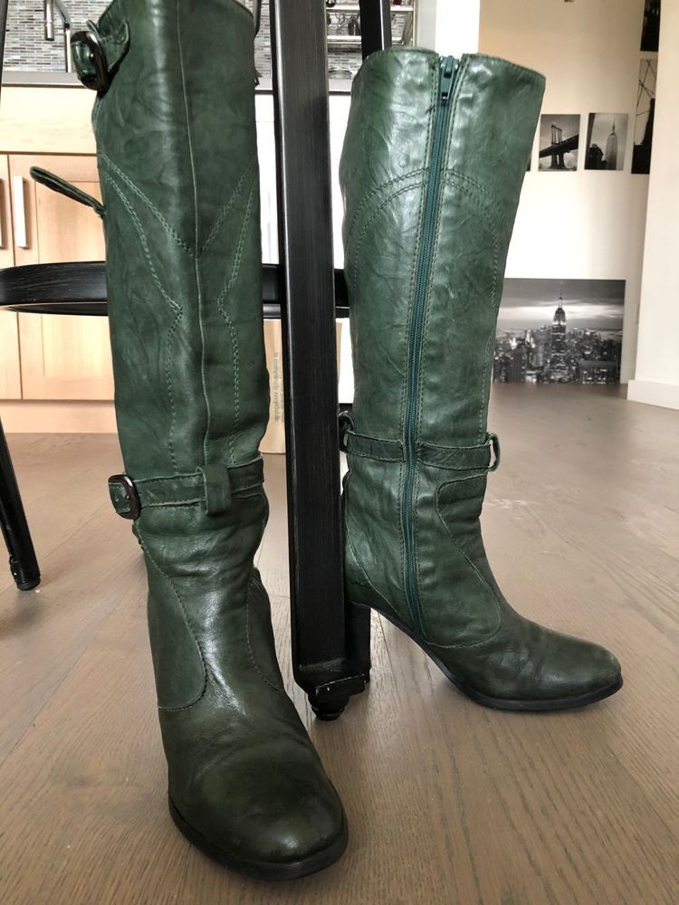 differently popular stores on feet images of Italian leather boots women (Original price was 400 ...