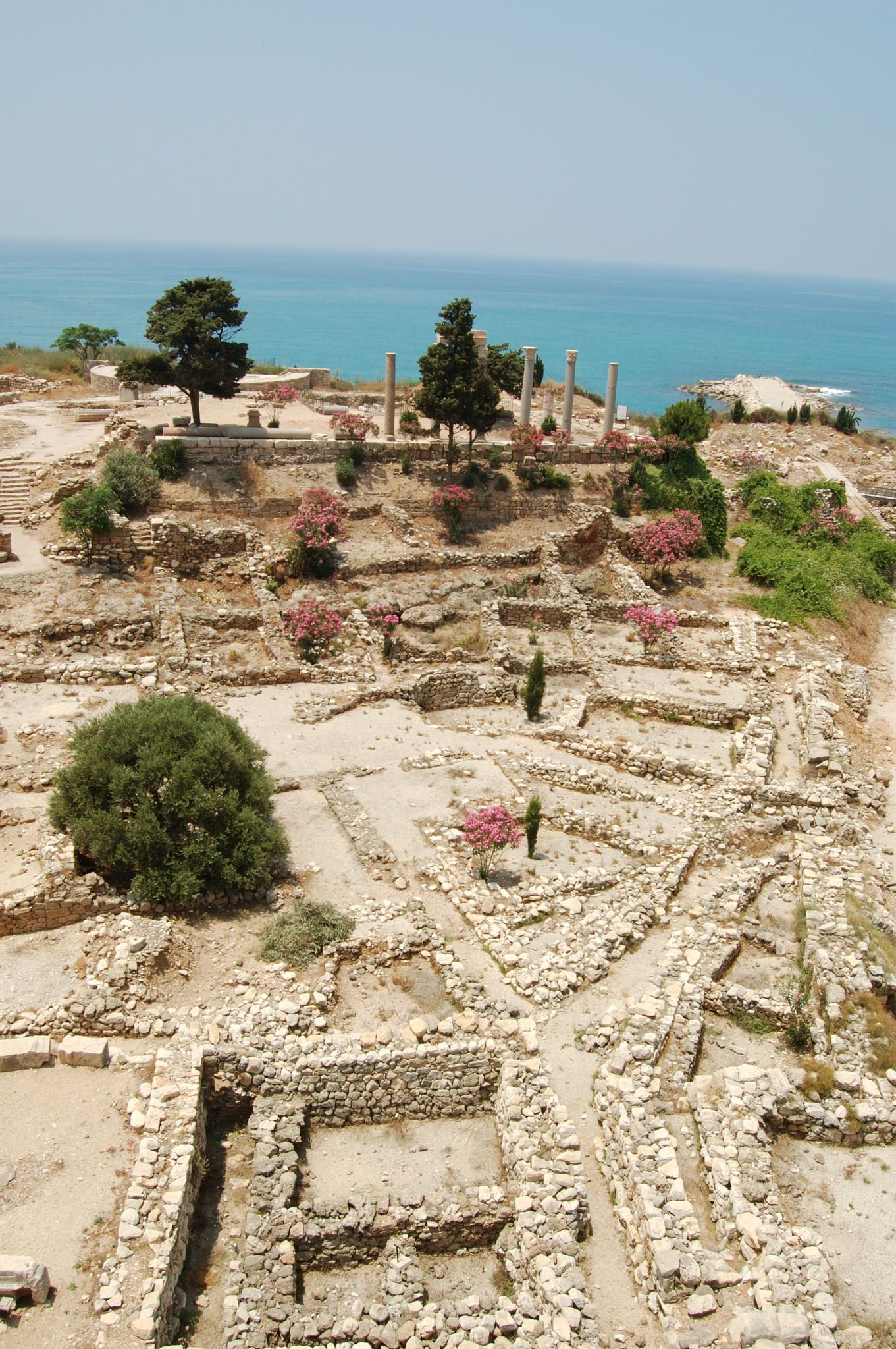 Byblos Jbeil Excavations Considered To Be The Oldest
