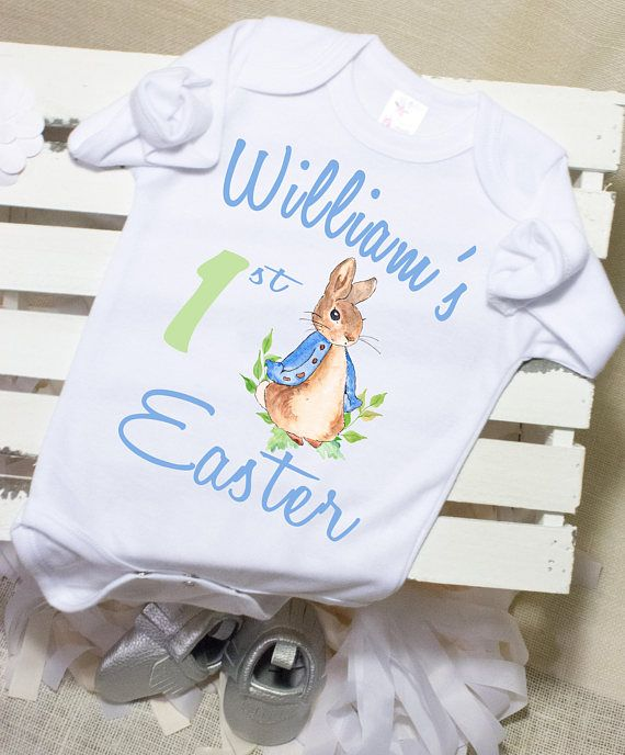 77de0c72f First Easter Onesies, Boys Easter Outfits, Infant Easter Outfit, Easter  Bunny Onesie®,Trendy Baby Cl