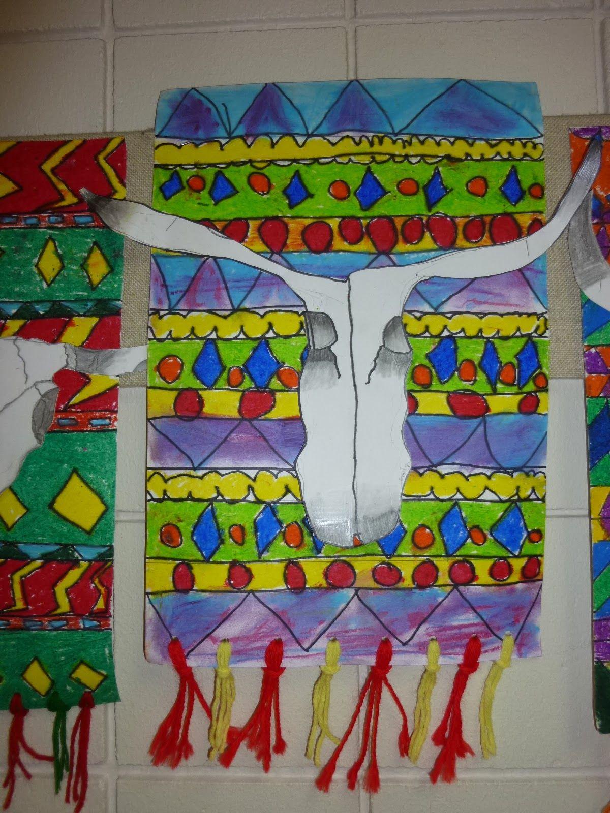 Mrs Werner S Art Room 4th Grade O Keeffe Skulls