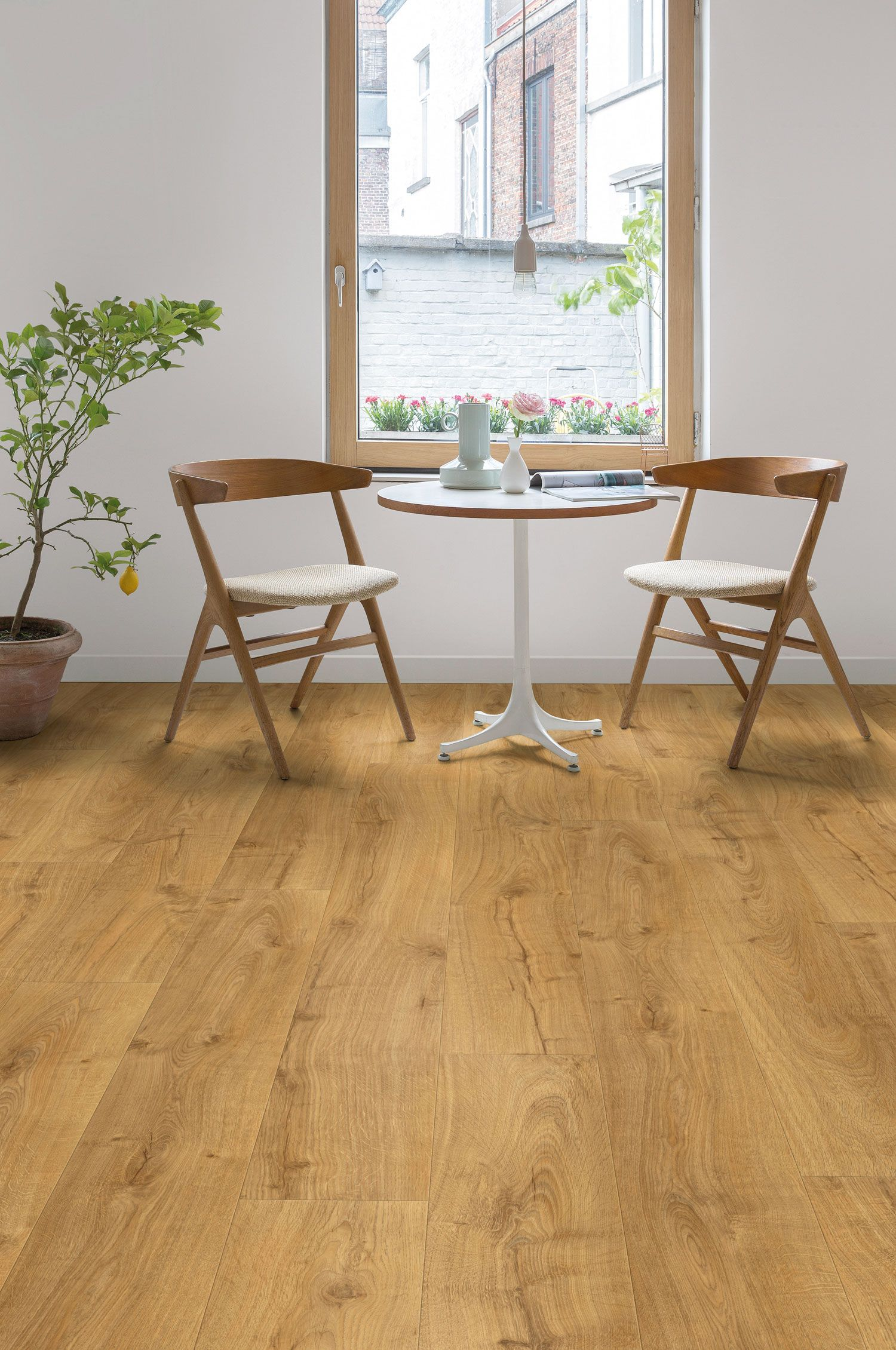 QuickStep Largo Laminate Flooring Dining room floor