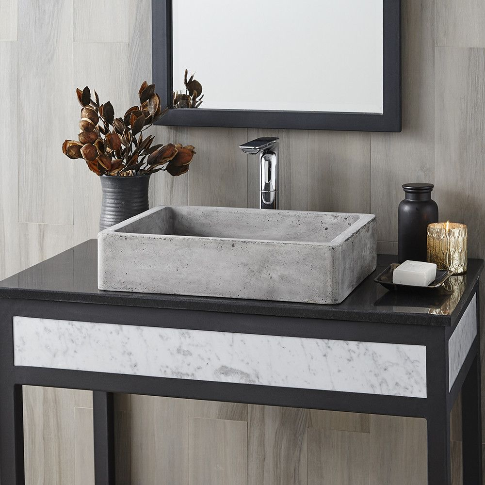 NativeStone Concrete Bathroom Sink That Is Perfect For Todays Clean - How much is a bathroom sink