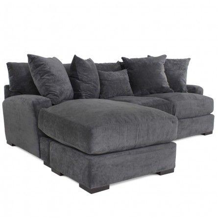 jonathan louis carlin gypsy graphite chaise sofa gallery furniture houston tx