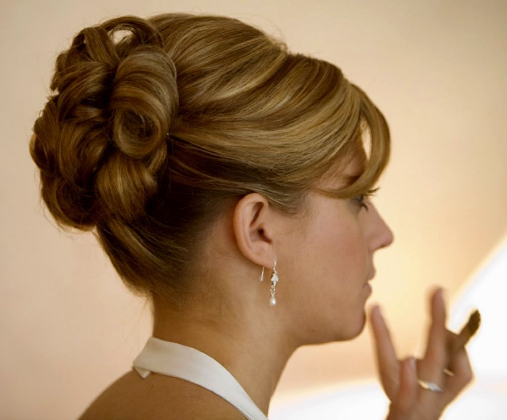 Elegant Updo Mother of Bride