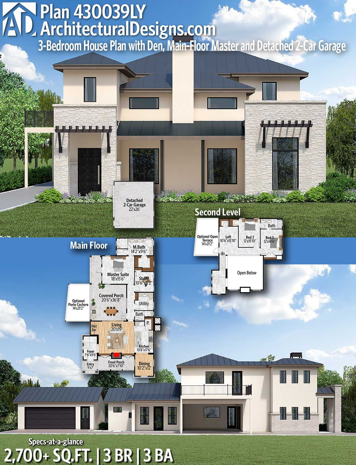 Architectural designs home plan ly gives you bedrooms baths and sq ft ready when are where do want to build also rh pinterest