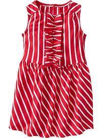 NEW Old Navy Girls 2T Polka Dot Tiered Sun Dress WHITE /& BLACK Summer #21119