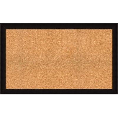 "Darby Home Co Orson Cork Bulletin Board Size: 30.25"" H x 50.25"" W x 1.63"" D"