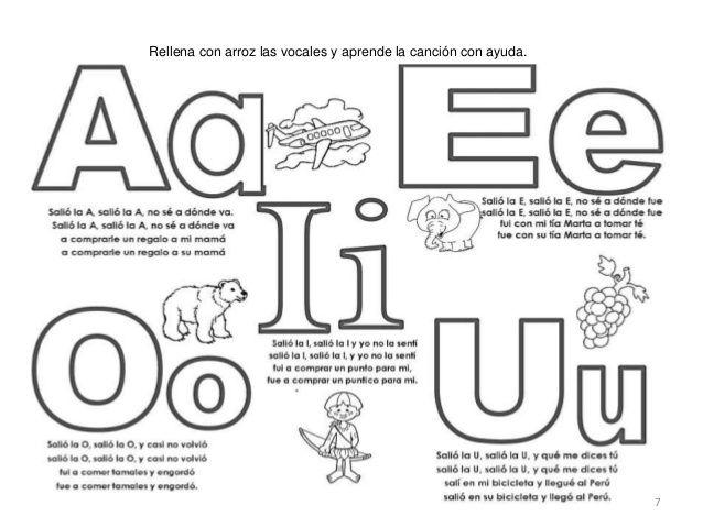 Resultado de imagen para libro practica de las vocales | vocales ...
