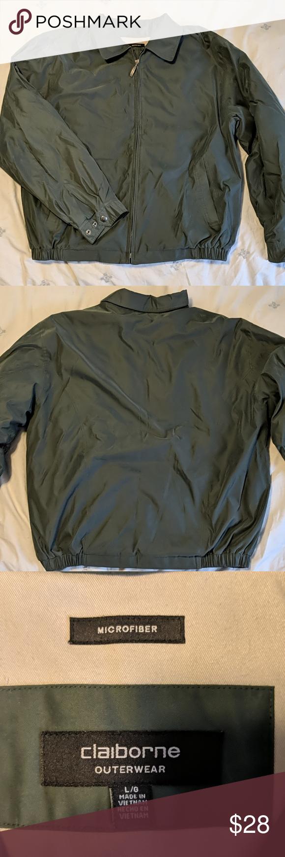 Claiborne Microfiber Jacket Jackets Claiborne Microfiber [ 1740 x 580 Pixel ]