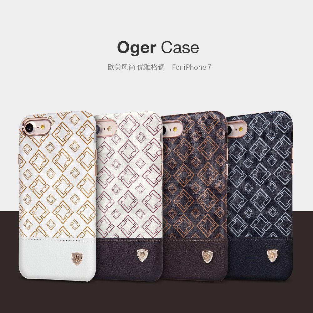 For Apple iPhone 7 phone cases Nillkin Oger Case for iPhone 7 protective back cover for Apple 7 case flip cover