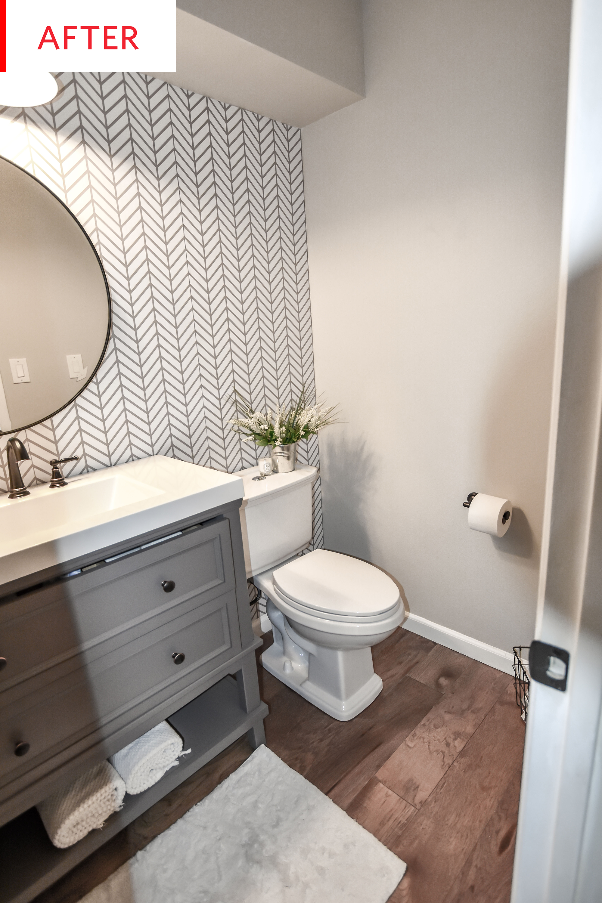 Before And After: An Amazing New Bathroom For Only $1,000 | Mountain