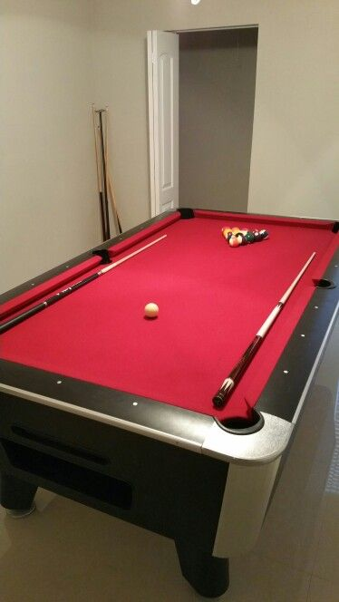 My New Toy Murrey Vintage Coin Operated Pool Table For The - Murrey billiard table