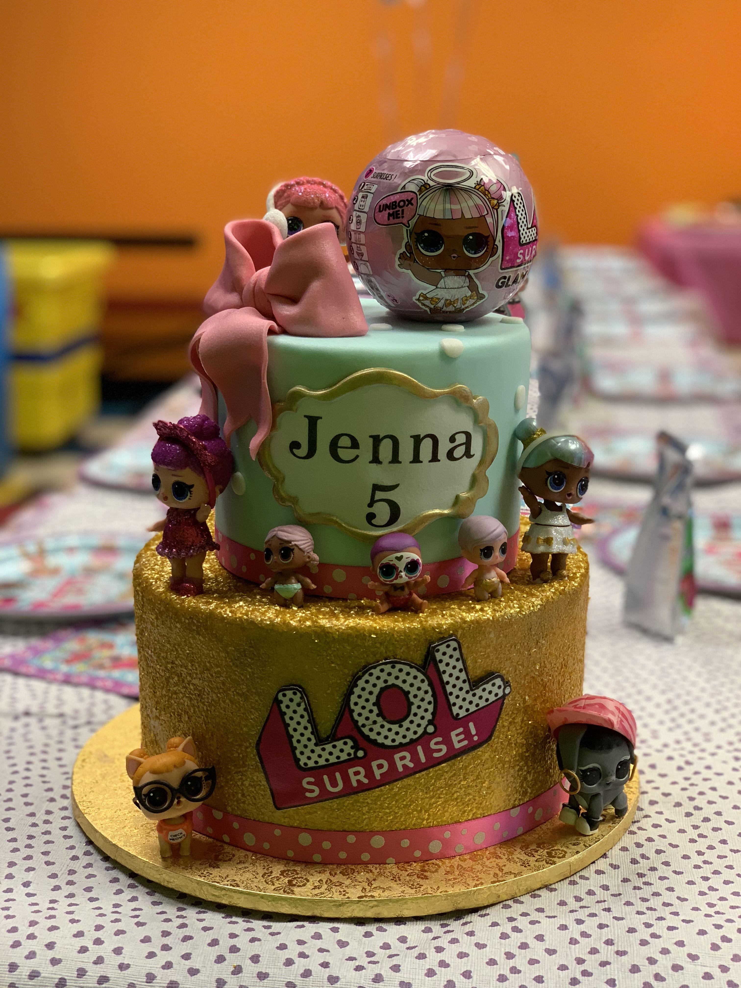 Lol surprise birthday cake surprise birthday cake