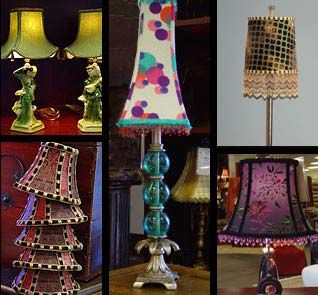 The middle one has a fun whimsical shape lampshades pinterest the middle one has a fun whimsical shape mozeypictures Gallery