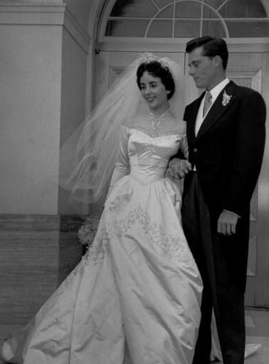 When Elizabeth Taylor married alcoholic, abusive hotel heir Nicky ...