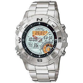 80f515934c4a Compra Reloj Casio Outgear AMW704D-7AV Horas De Caza   Termometro   Fase  Lunar -