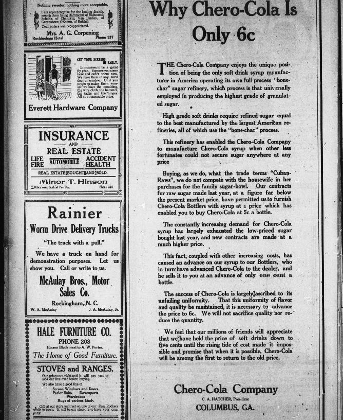Rockingham Post Dispatch Rockingham N C May 13 1920 Page