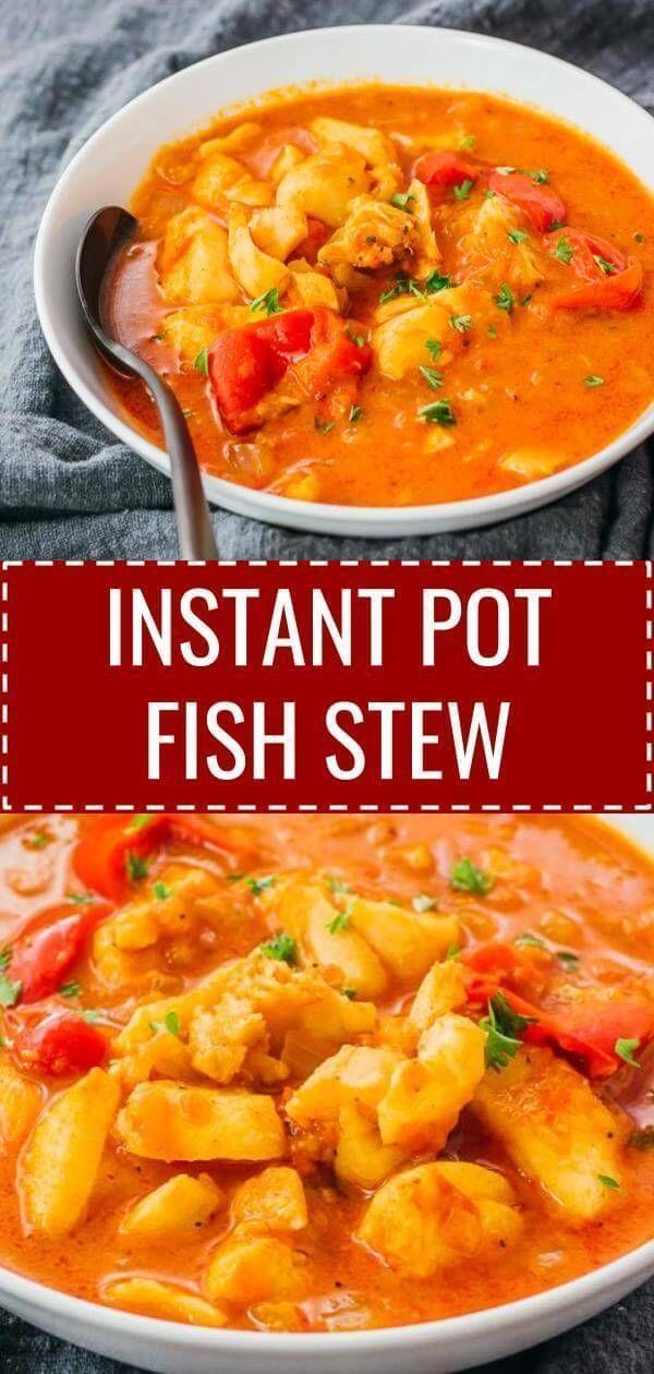 Instant Pot Brazilian Fish Stew (Moqueca) - Savory Tooth