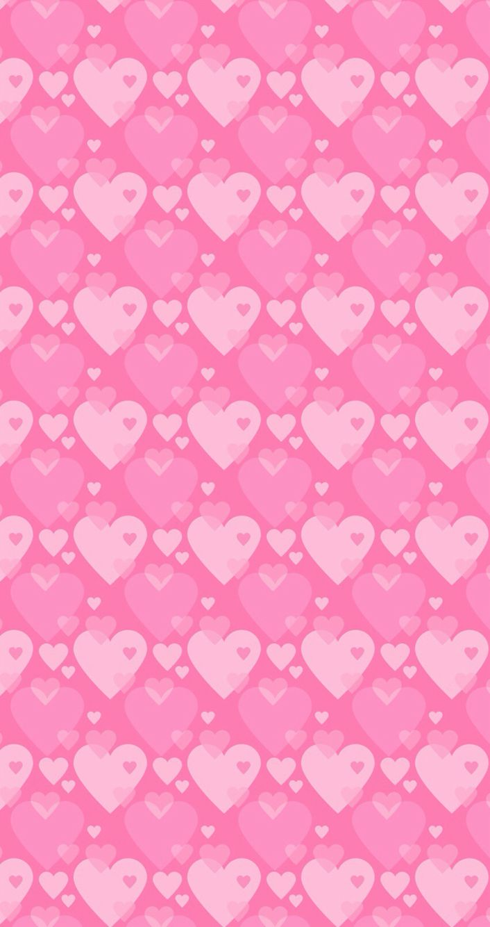 Wallpaper Pretty Hd IPhone Background Pink Heart Hearts Love