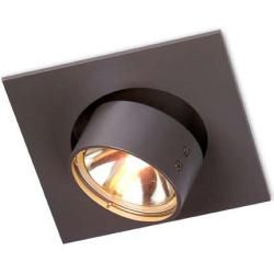 Photo of Mawa Design Wittenberg wi-eb-1e recessed spotlight black matt (Mawa 9005) standard socket 45 ° (flood)