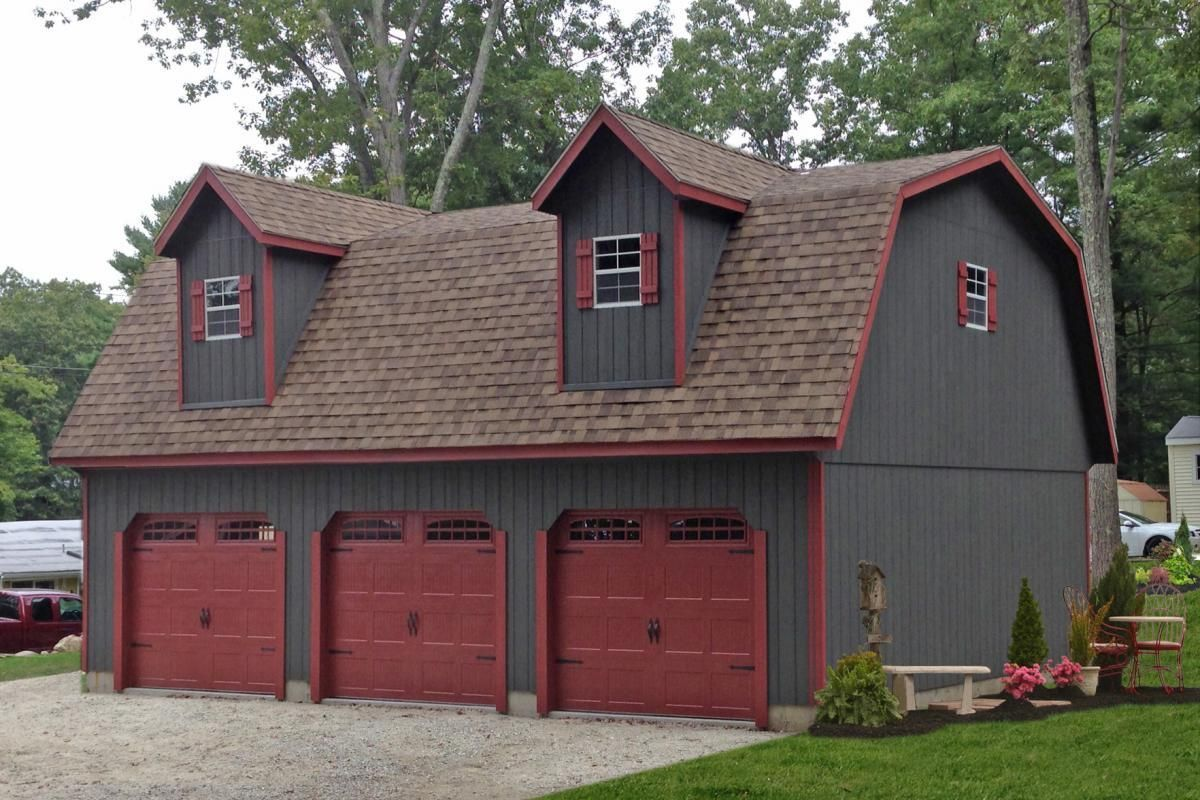 How Much Does It Cost To Build A Detached Garage The Complete Guide For 2021 Garage Prices Three Car Garage Prefab Garages