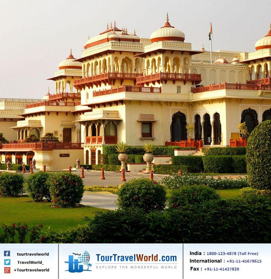 The RambaghPalace was Built by Maharaja Sawai Singh II in