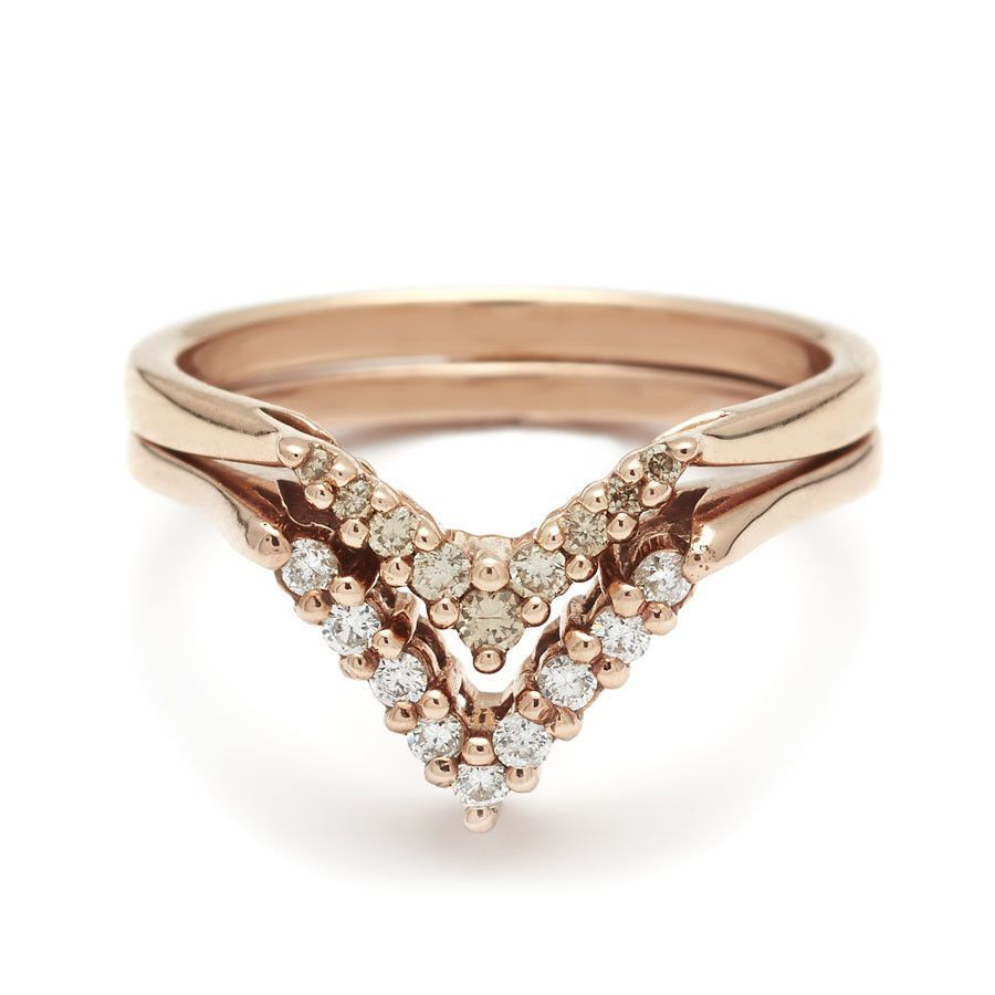 27++ Nesting wedding band rose gold ideas in 2021
