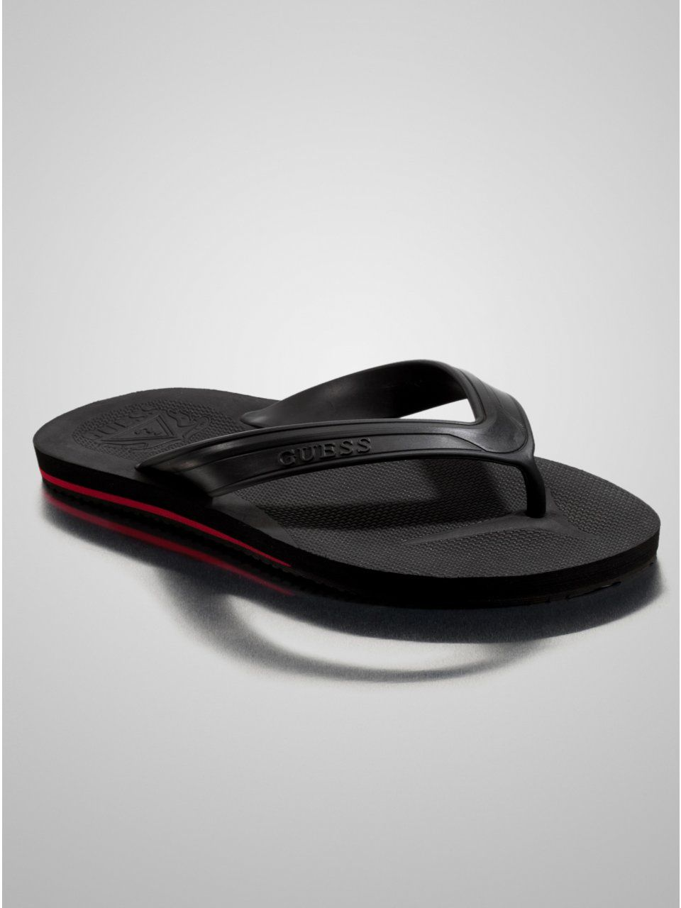 GUESS Splash Flip-Flops, BLACK (11)