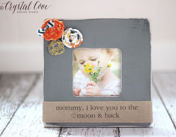 Valentine\'s Day Gift for Mom Mother Wife Personalized Picture Frame ...
