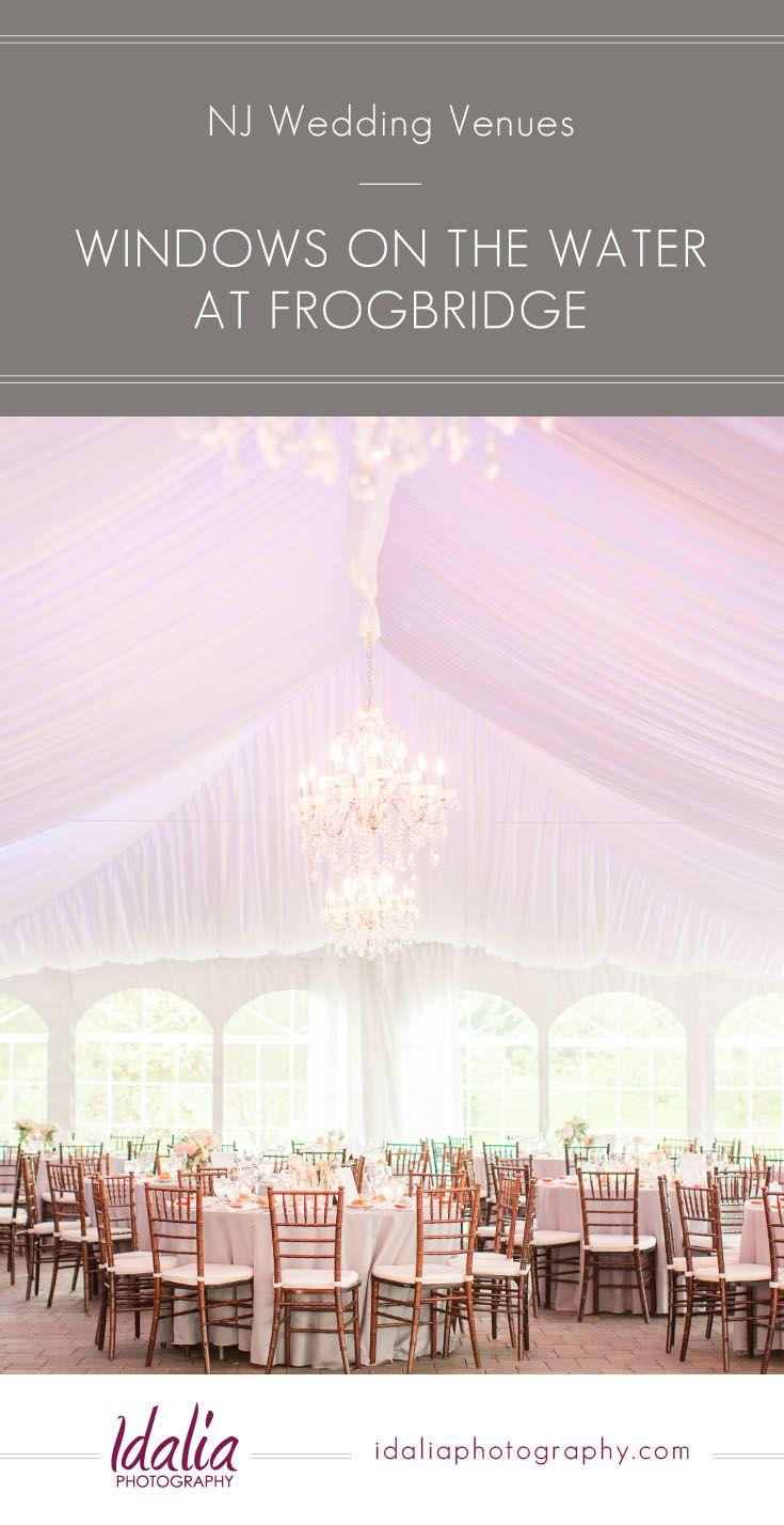 wedding venues asbury park nj%0A Windows on the Water at Frogbridge   NJ Wedding Venue   Millstone NJ    Photos by