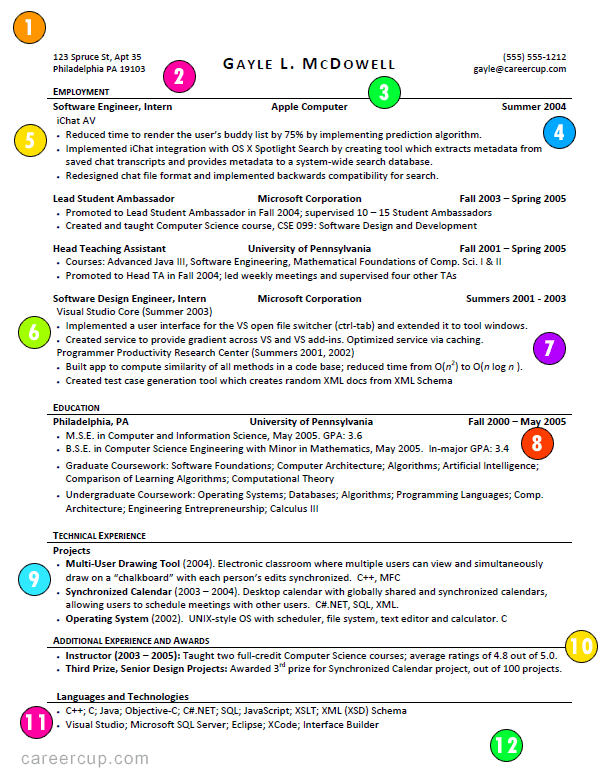 A Good Resume Example Resume Examples Great Resume Resumes Examples This Is What A Good