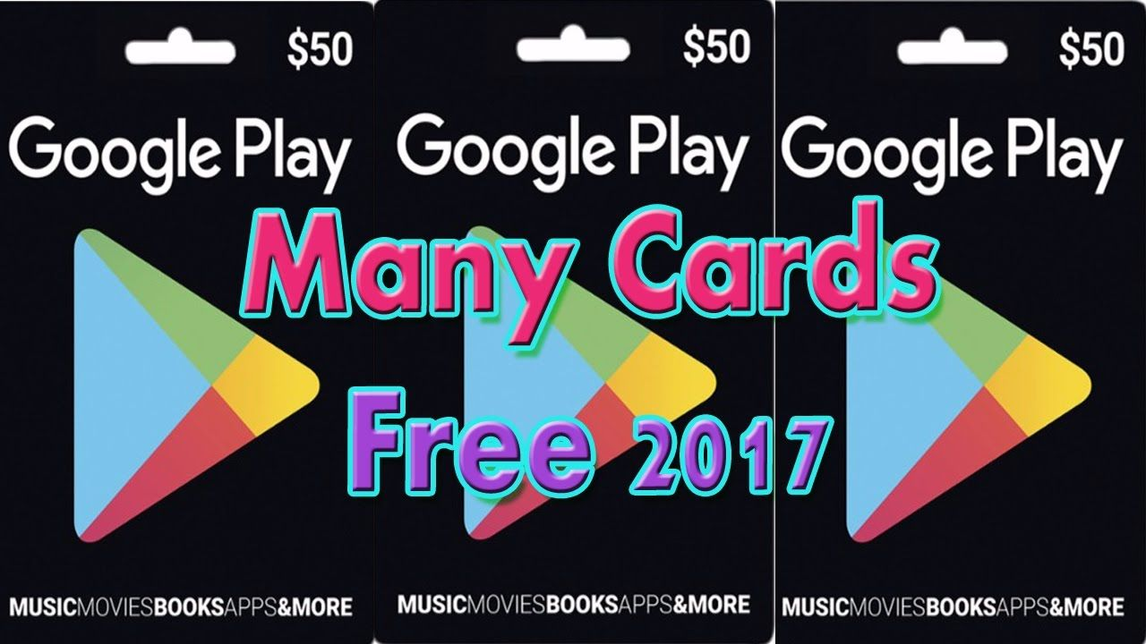 Free Gift Card codes Generator 2017 | Get Google Play Store Gift