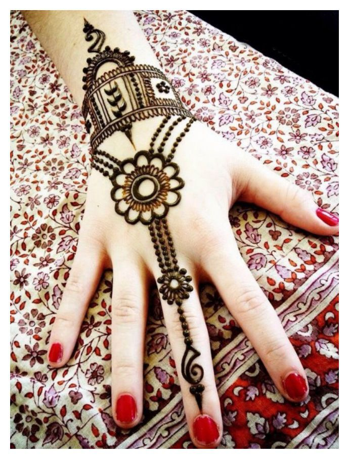 20 Simple Easy and Beautiful Mehndi Designs for Hands 2016 - SheIdeas