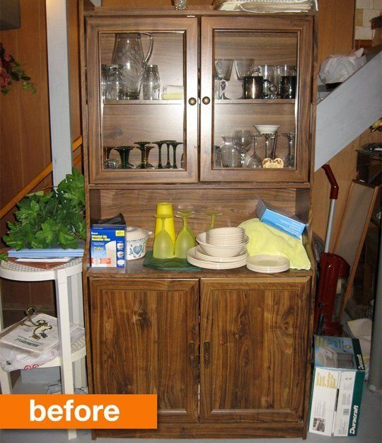 Before & After: A Laminate Cabinet Gets a Face-lift - Apartment Therapy Main