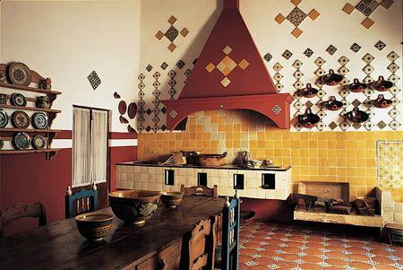 Cocinas Mexicanas Tradicionales  All photos  Melba Levick  COCINA en 2019  Mexican kitchens Mexican style kitchens y Mexican style decor